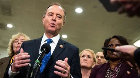House Intelligence Committee Chairman Adam Schiff, D-Calif., joined
