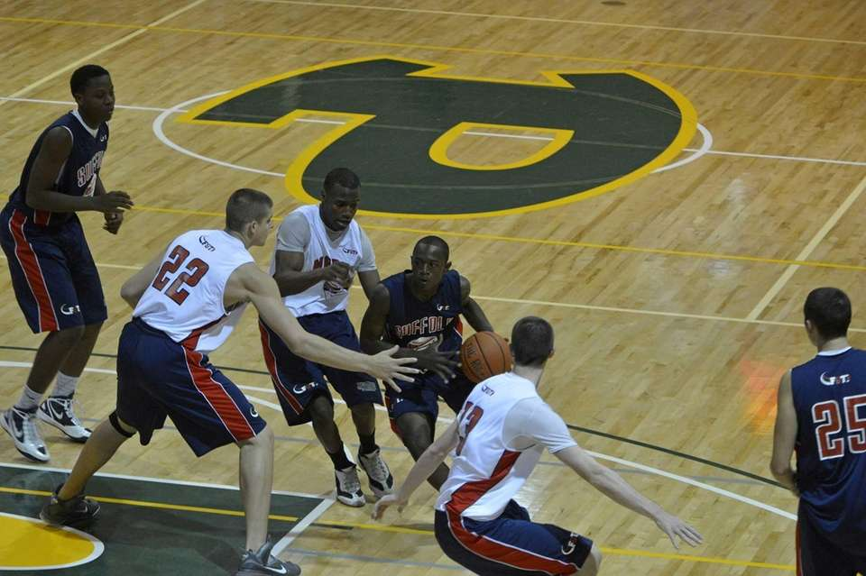 Nassau All-Stars played Suffolk All-Stars in the 3rd