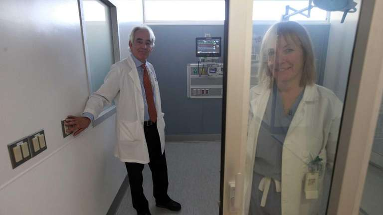 Dr. Mark P. Hoornstra, M.D., director of the