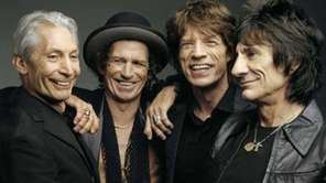 The Rolling Stones -- Charlie Watts, Keith Richards,