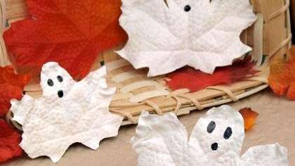 Rosetta's frosty leaf ghosts, from Spoonful.com, are a