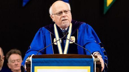 Stuart Rabinowitz, 74, has been president of Hofstra