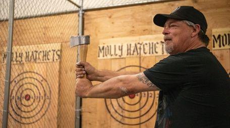 Kurt Andersen, owner of Molly Hatchets Urban Axe