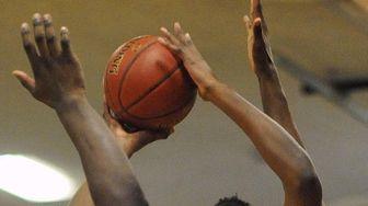 Baldwin vs. Westbury in a Nassau boys basketball