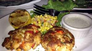 Lobster-and-crab cakes at The Capital Grille in Garden