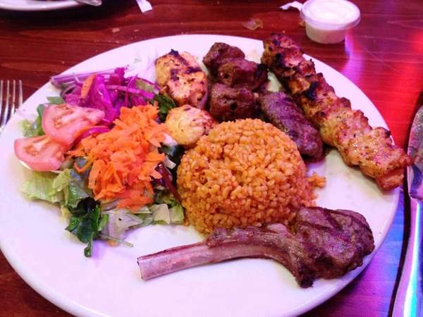 The excellent mixed grill at Istanbul in Centereach