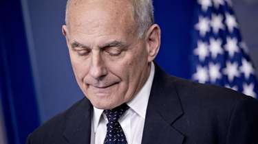 John Kelly, then White House chief of staff,