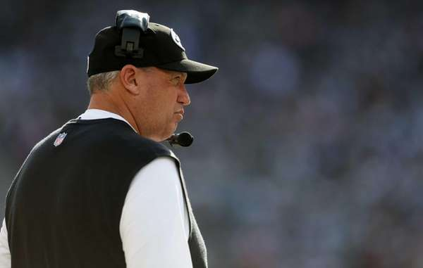 Rex Ryan looks on against the Indianapolis Colts