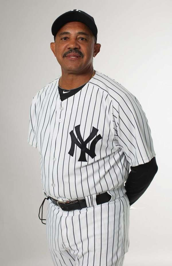 Tony Pena poses for a portrait during the