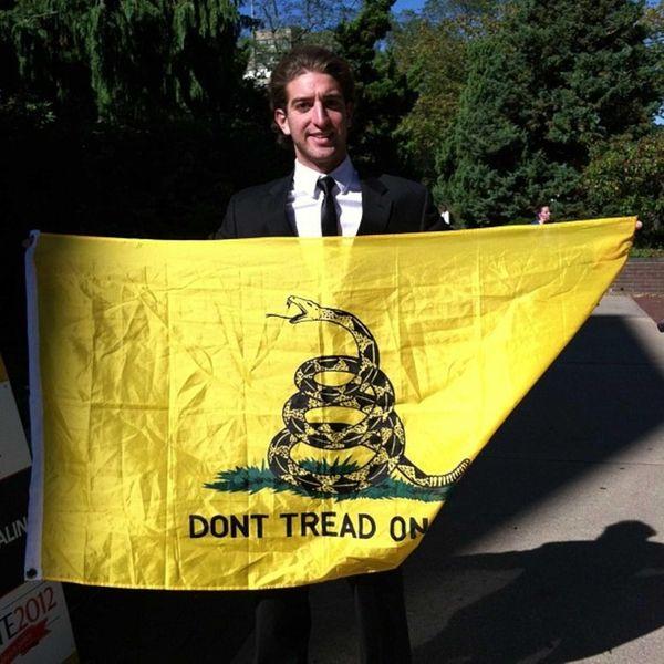 David Perrotto, 21, a junior at Adelphi University,
