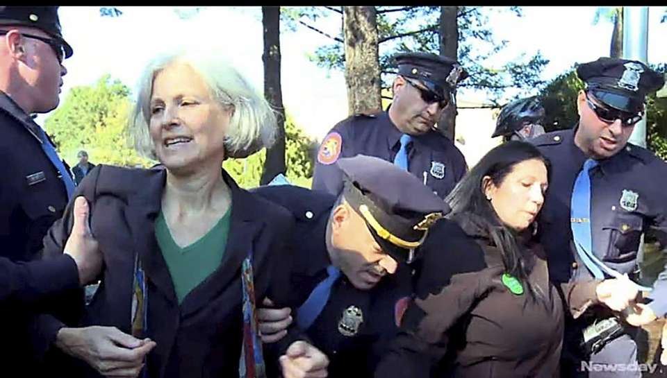 Green Party presidential candidate Jill Stein, left, and