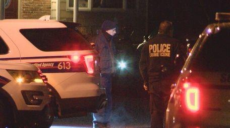 Suffolk County police investigate a fatal car crash