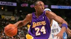 Kobe Bryant was nominated for the Naismith Hall