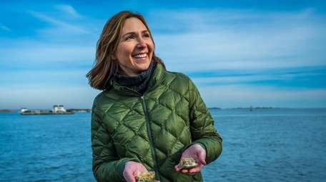 Aileen Ruddy will become a shellfish farmer in