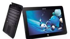 The Samsung ATIV Smart PC Pro 700T switches
