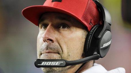 San Francisco 49ers head coach Kyle Shanahan has