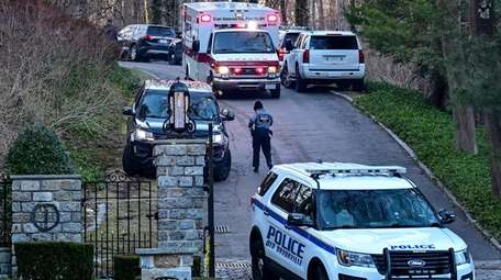 Photo of the scene on Wolver Hollow Road