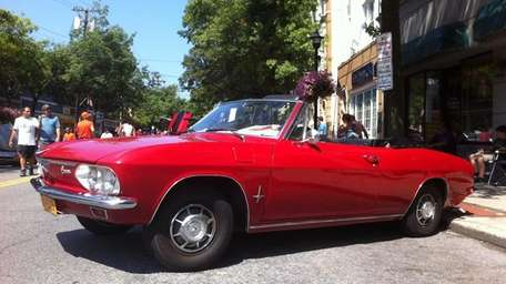 THE CAR AND ITS OWNER 1966 Corvair Monza