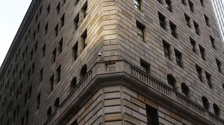 A view of the Federal Reserve Bank of