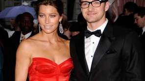 Jessica Biel and Justin Timberlake attend