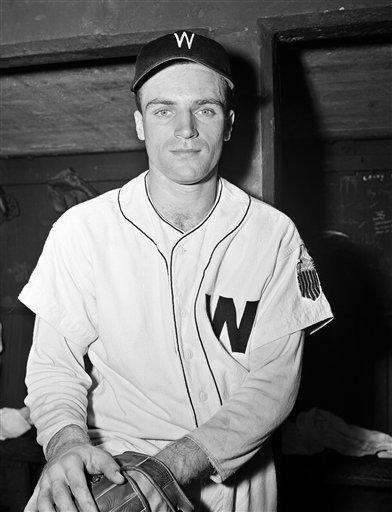 Then-Washington Senators third baseman Eddie Yost in Washington.