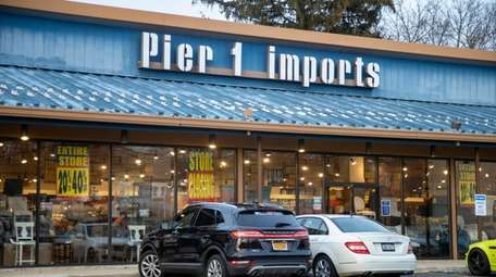 The Pier 1 Imports store in Huntington Station