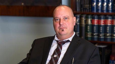 Daniel Levler, president of the Suffolk Association of