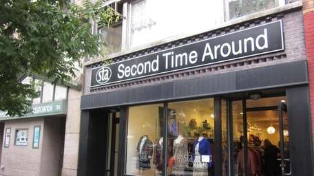 Upscale consignment store Second Time Around now has