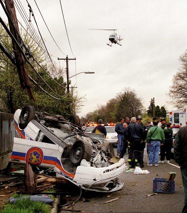 The scene of the 2000 Massapequa Park accident