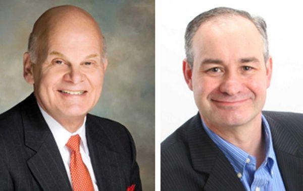 Republican state Sen. Steve Saland, left, was challenged