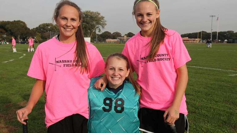 From left, Seaford field hockey sisters Mackenzie, 15,