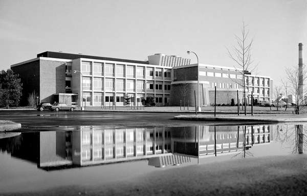 The Chemistry Building at Brookhaven National Lab has