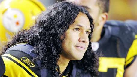 Pittsburgh Steelers strong safety Troy Polamalu on the