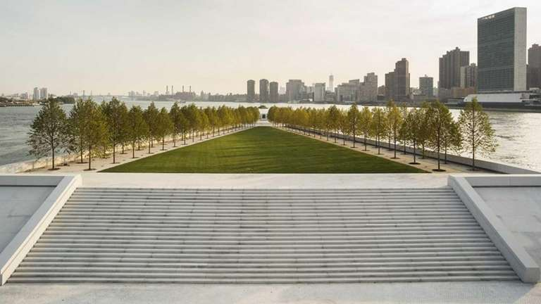 The new FDR Four Freedoms Park in New