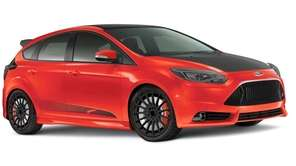 The 2013 Ford Focus ST places its considerable