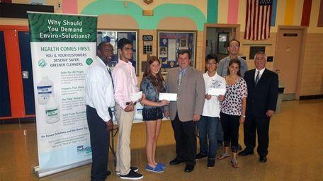 Great Neck North's Joseph Bichoupan, Claudia Hakimian and