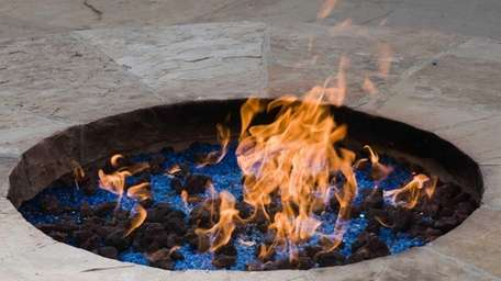 You can design your own flashy fire pit
