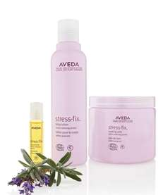 Stress-Fix, a collection of body products from Aveda,
