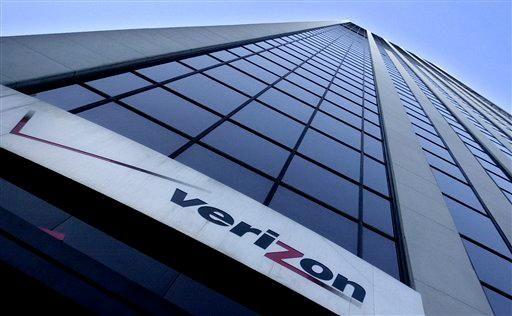 The headquarters for Verizon Communications Inc. in Manhattan.