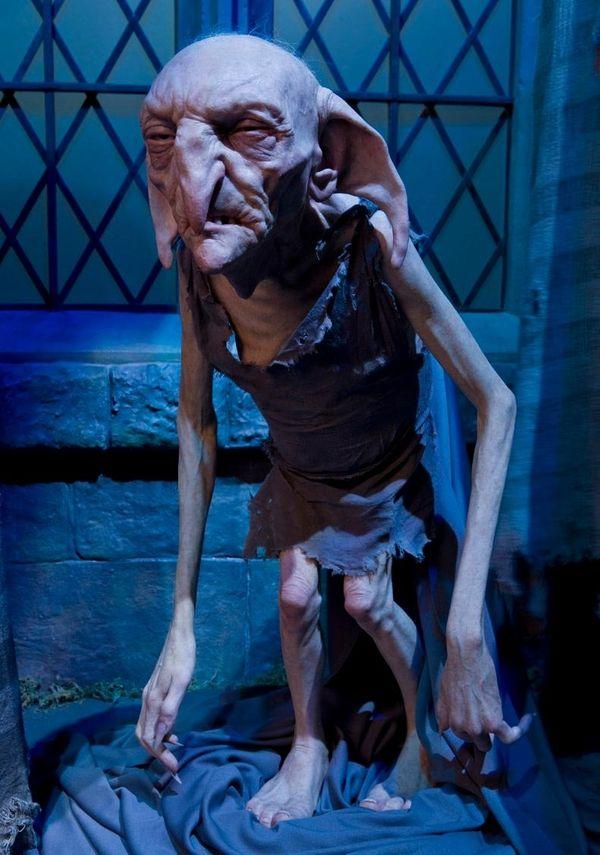 Kreacher, the Black family house-elf, as seen in