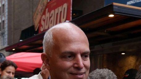 Anthony Missano, president of business development at Sbarro,