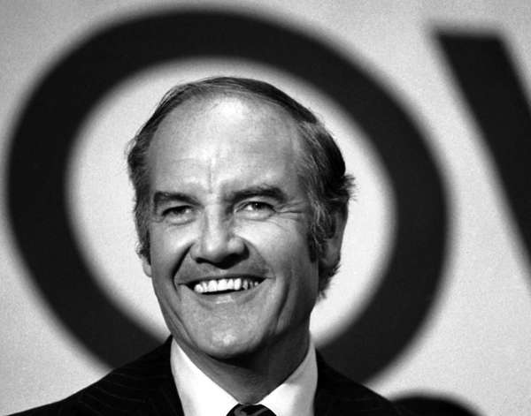 Democratic presidential candidate, U.S. Sen. George McGovern, speaks