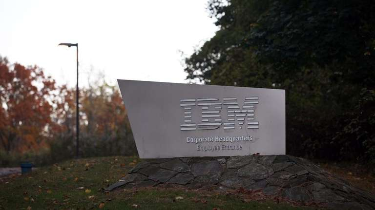 IBM corporate headquarters is photographed on New Orchard