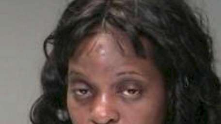Zona Taylor, of Bellport, was arrested Saturday night