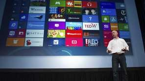 Microsoft executive Kirk Koenigsbauer introduces Windows 8 this