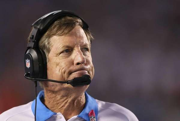 San Diego Chargers head coach Norv Turner looks