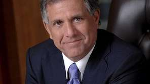 Leslie Moonves, chief executive officer of CBS, in