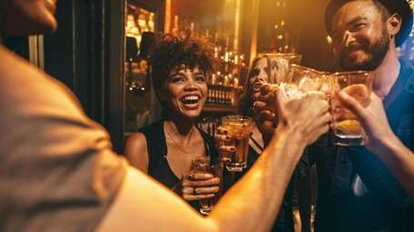Valentine's Day Singles Crawl and Singles Ball begins