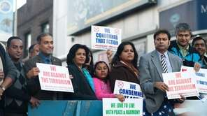 Members of the Bangladeshi community come together in