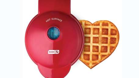 Heart waffles; $17.99 by Dash in at Kohl's.